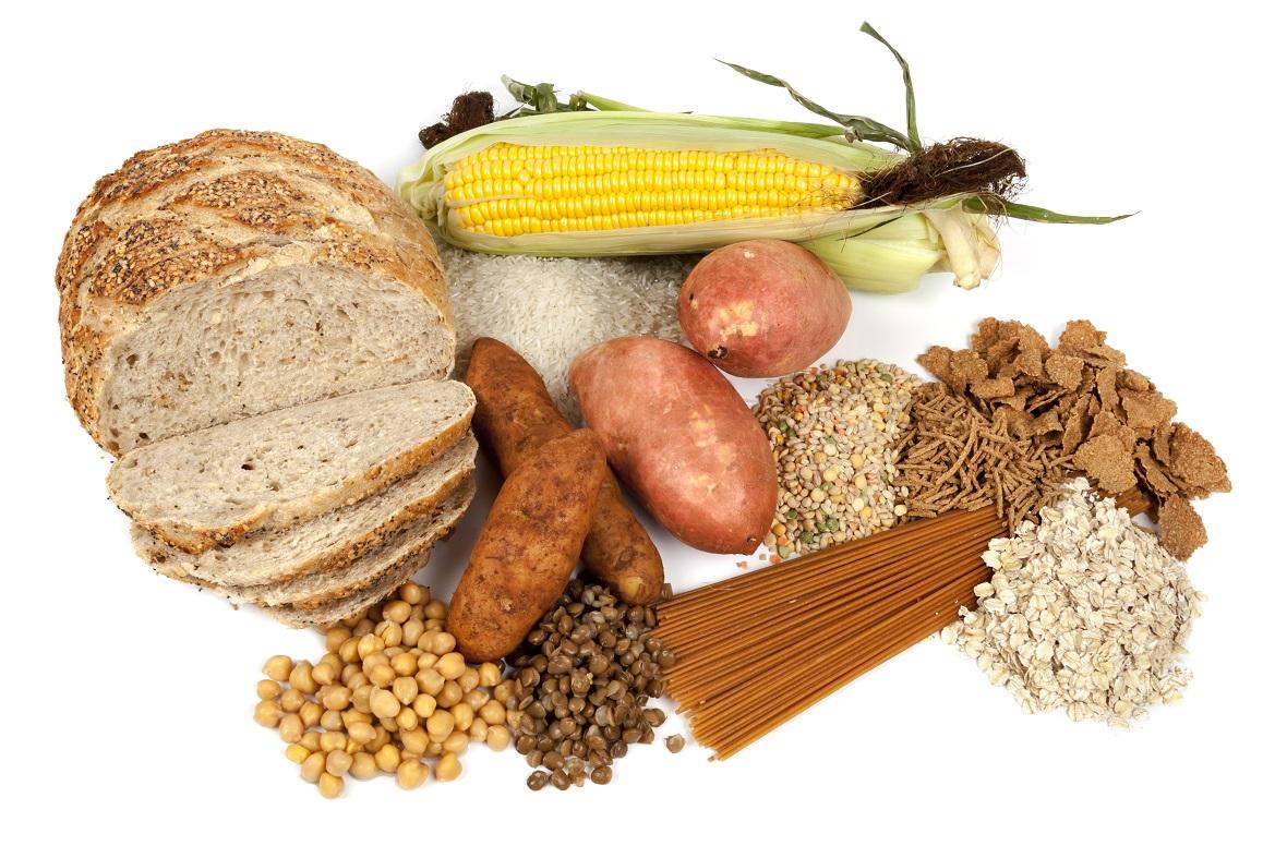 vezels in koolhydraat rijke voeding
